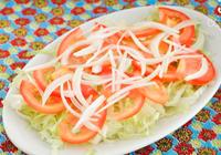 salada simples de tomate