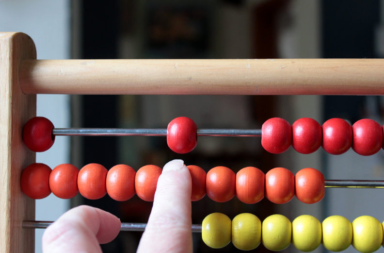 learn simple addition and on abacus - 792×521