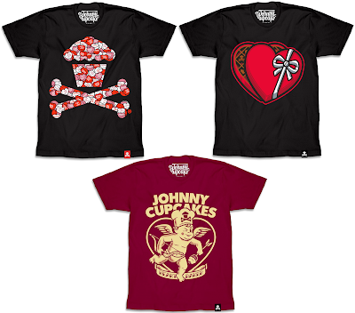 Johnny Cupcakes Valentine's Day 2017 T-Shirt Collection