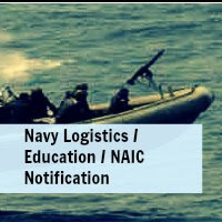 Indian Navy Recruitment For Logistics/Education/NAIC Notification 2013