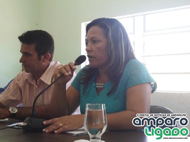 Mensagem da Presidente da Câmara Municipal Maria Pedrosa Pelo aniversário de Amparo