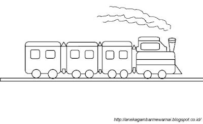 Gambar Kereta Api Sederhana 2