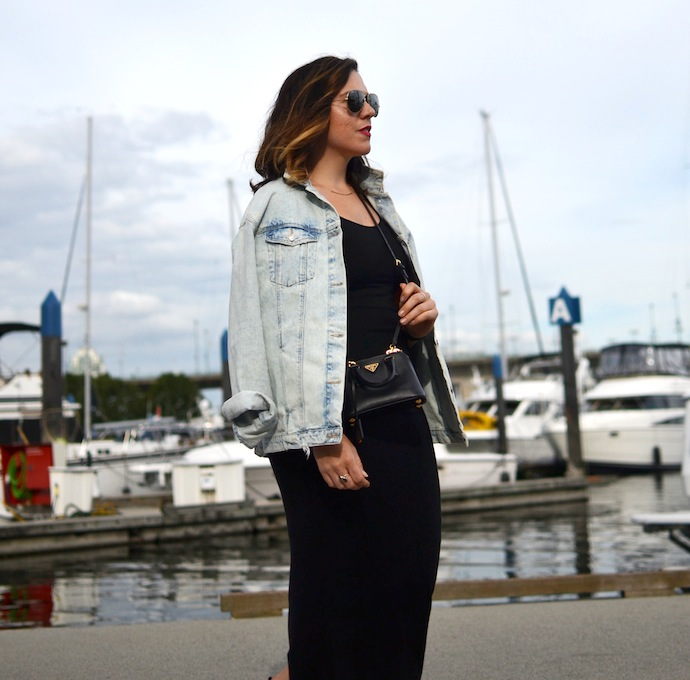 Vancouver fashion blogger Aleesha Harris