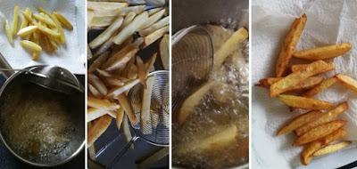 Zubereitung Pommes frites