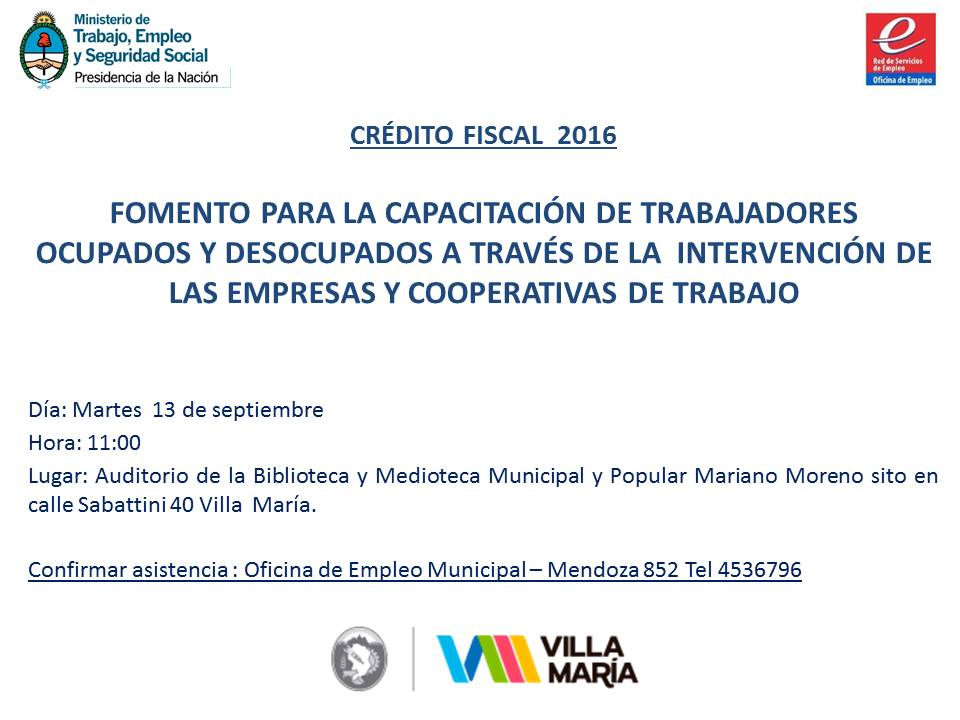 Oficina de empleo municipalidad de villa mar a agosto 2016 for Inscripcion oficina de empleo