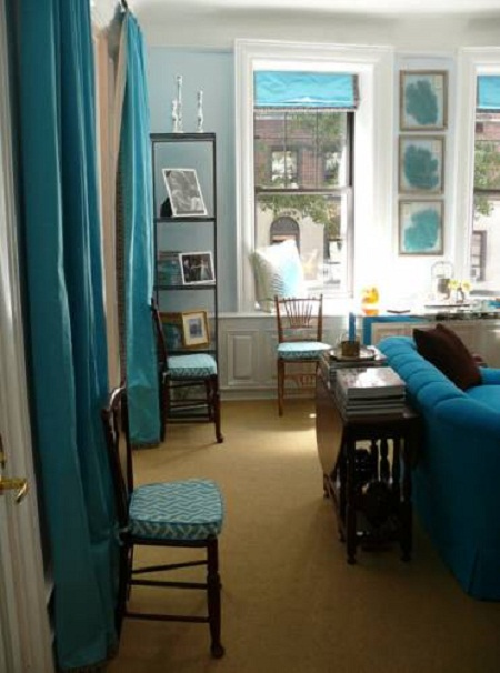 Decorating Room Ideas: Blue And Brown Living Room Decorating Ideas