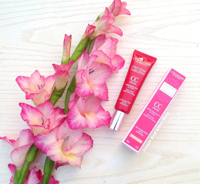 L'Occitane Pivoine Sublime CC Cream Skin Tone Perfecting Cream Broad Spectrum SPF 20 Sunscreen