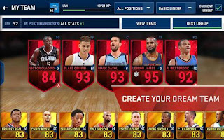 NBA LIVE Mobile Mod APK Full Unlocked
