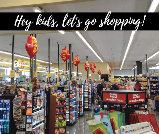 Teaching Kids to Shop + Prepare a Meal with the Help of Giant Eagle #GiantEagleSlashedPrices