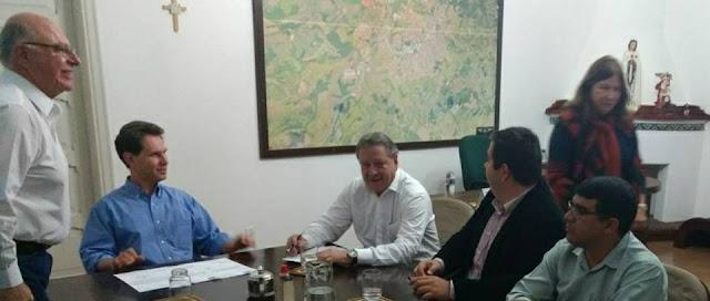 Secretário de Agricultura do Estado anuncia envio de recursos para UTI e melhorias das estradas