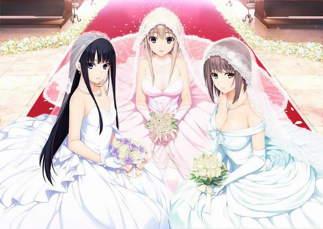 Proses Upacara Pernikahan Waifu Melalui VR Wedding
