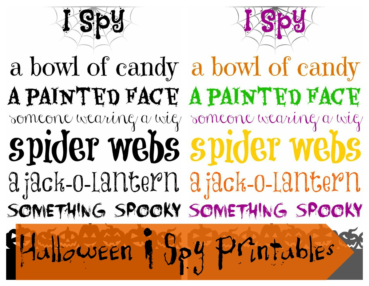 Tutus And Tea Parties Free Halloween Printable