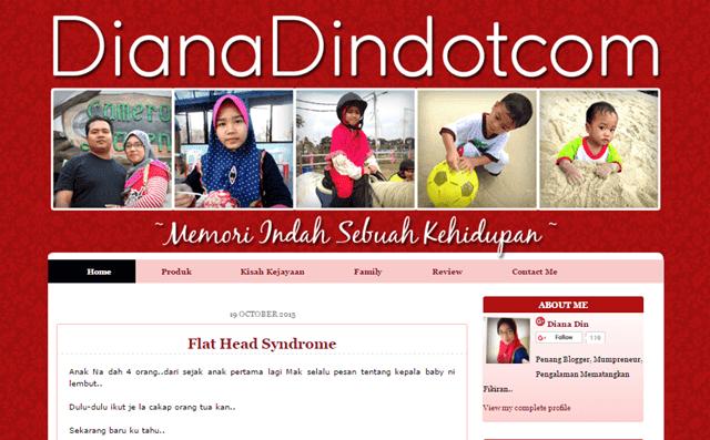 Tempahan Design Blog DianaDindotcom