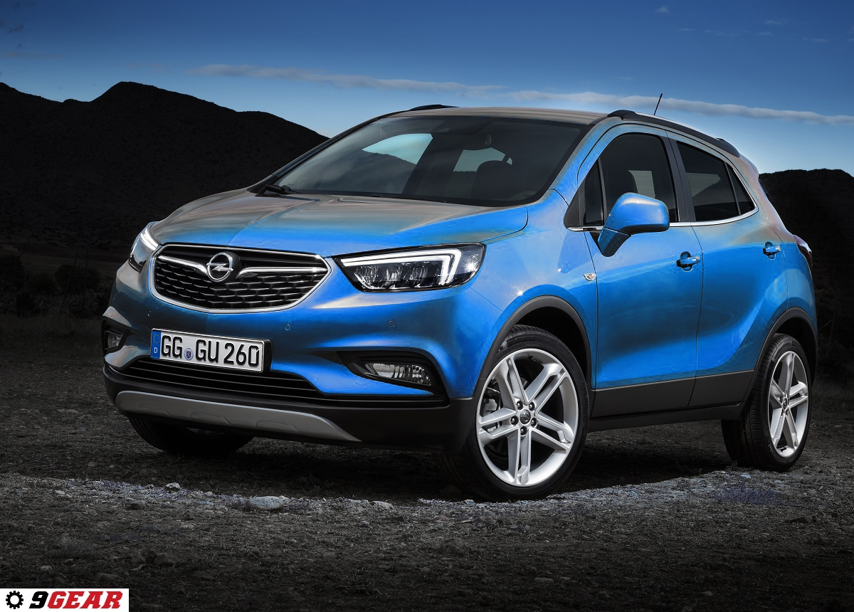 new opel mokka x ready for geneva reveal car reviews new car pictures for 2018 2019. Black Bedroom Furniture Sets. Home Design Ideas