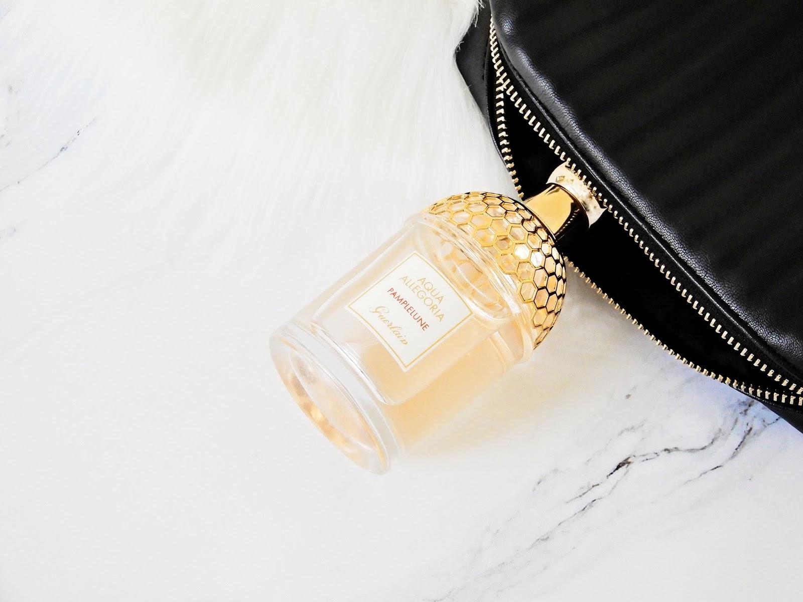 Aqua Allegoria Pamplelune marki Guerlain, cytrusowe perfumy, perfumy na lato,