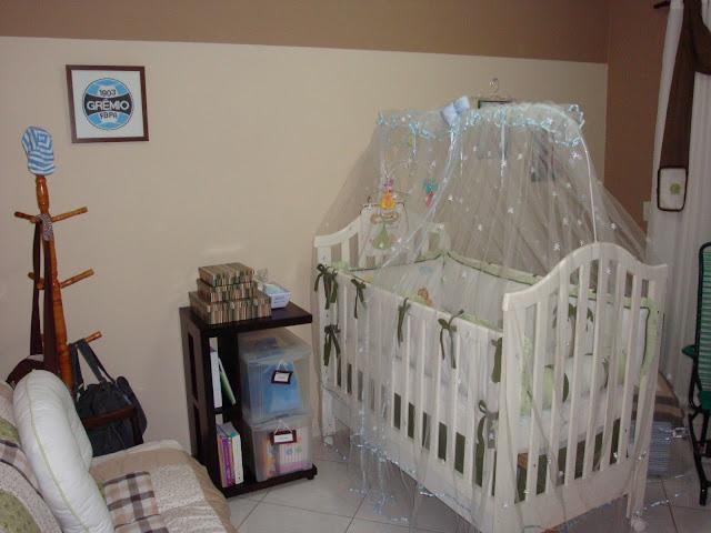 Vista Geral do Quarto do bebê Gui