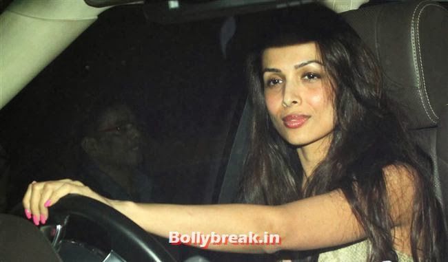 Malaika Arora, Deepika, Ranverr, Jackie, Malaika & Other Celebs at Gunday Special Screening