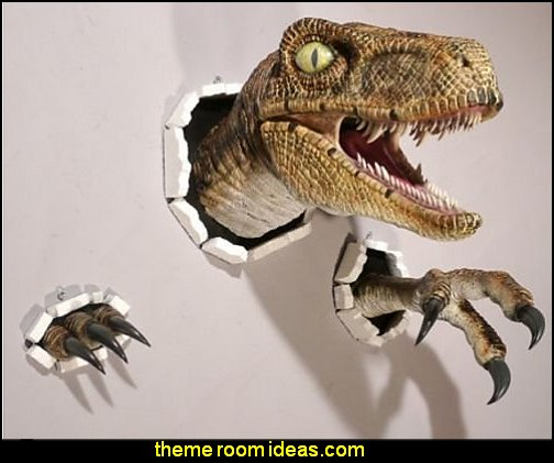 Jurassic World Park Velociraptor Prop Replica - Limited Life Size Movie Raptor Head Claw Set