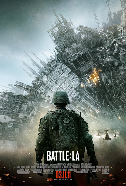 battle los angeles poster 2 - Este poster de Battle Los Angeles está masivo!