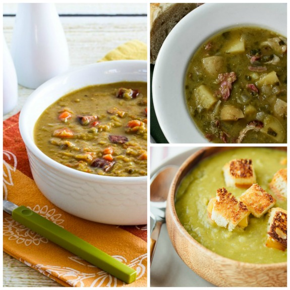 The BEST Slow Cooker Split Pea Soup from Food Bloggers found on SlowCookerFromScratch.com
