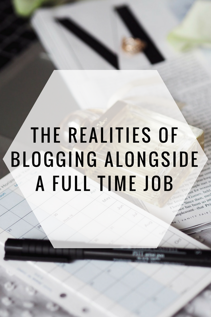 Blog Help | The Realities of Blogging Alongside a Full Time Job Pinterest