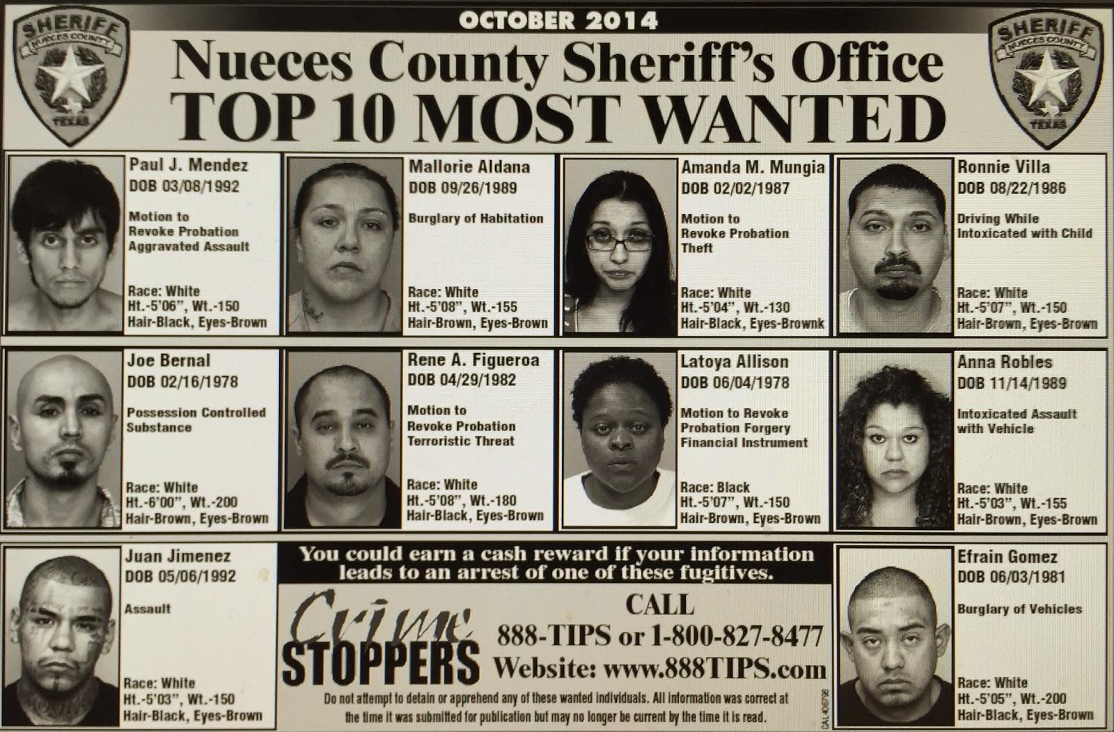 Polk County Top 10 Most Wanted – Fondos de Pantalla