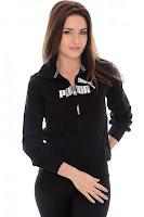 Jacheta PUMA pentru femei SWEAT JACKET - TERRY