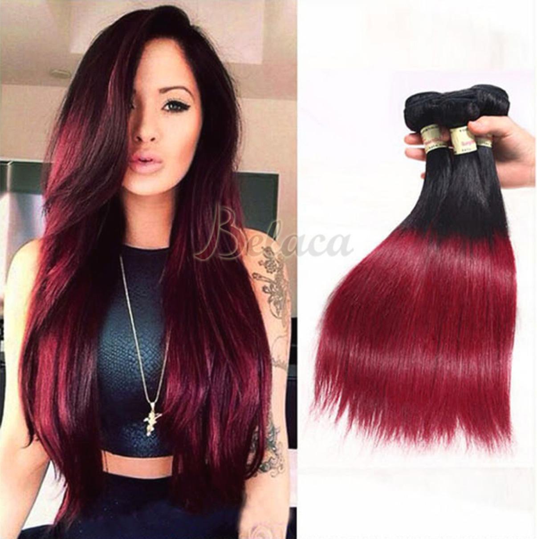 Burgundy Hair Color - Top Haircut Styles 2017