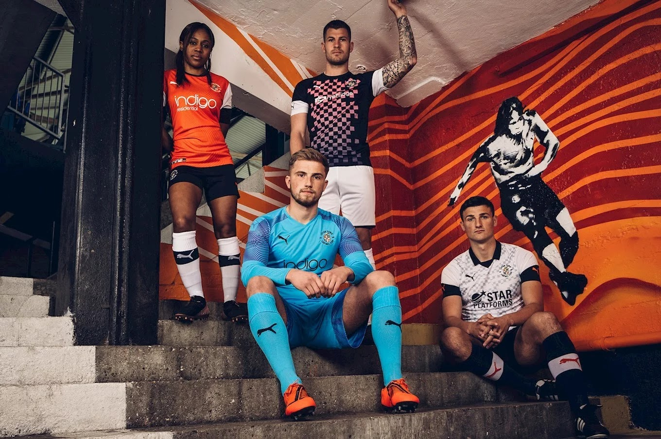 Outstanding Luton Town 19-20 Home & 2 Alternative