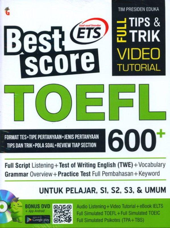Tes Toefl Dan Pembahasannya Pdf
