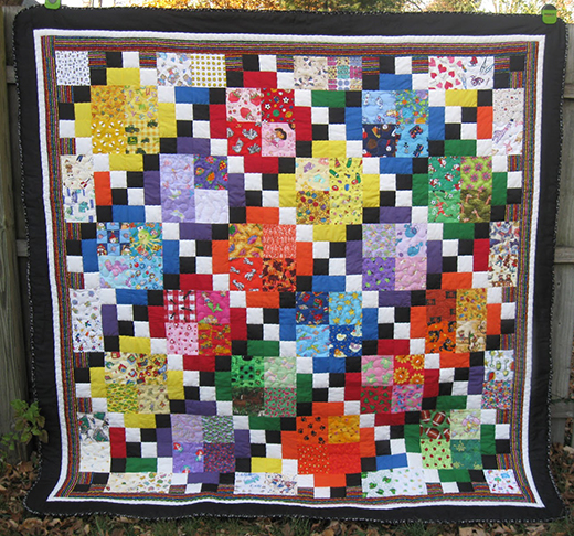 I Spy Diamond Quilt Free Tutorial