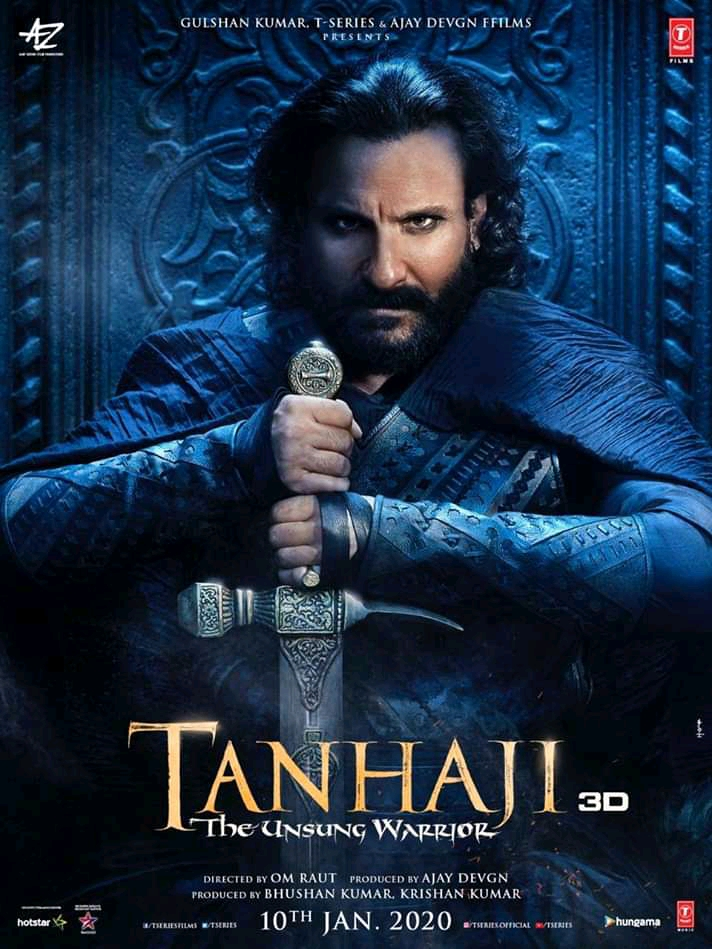 Tanhaji: The Unsung Warrior (2020) Hindi Movie 720p DVDScr 1.2GB