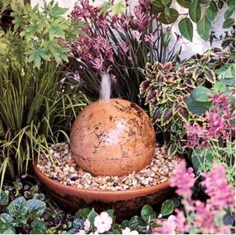 A mi manera c mo hacer una fuente de agua casera - Fuentes para jardin caseras ...