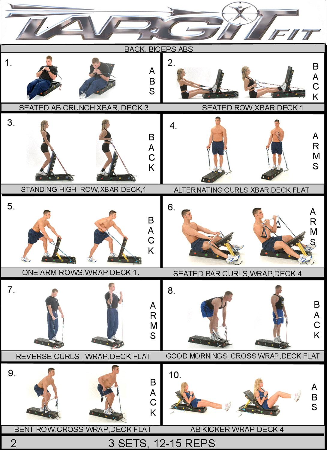 meet and greet exercises for abs