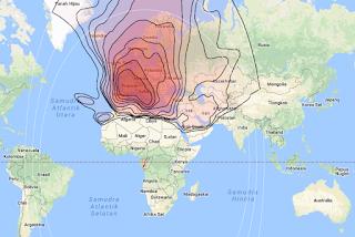 Footprint Satellite Eutelsat Hot Bird 13B 13.0°E KU Band