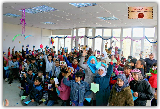 Letters of Love in 2016 succeeded in actively involving 20,000+ people across 16 countries and was able to deliver letters to 13,000+ Syrian, Iraqi & Yazidi and sensitise around 5000+ students.