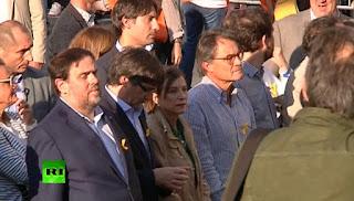 Ο Ραχόι διαλύει το καταλανικό κοινοβούλιο