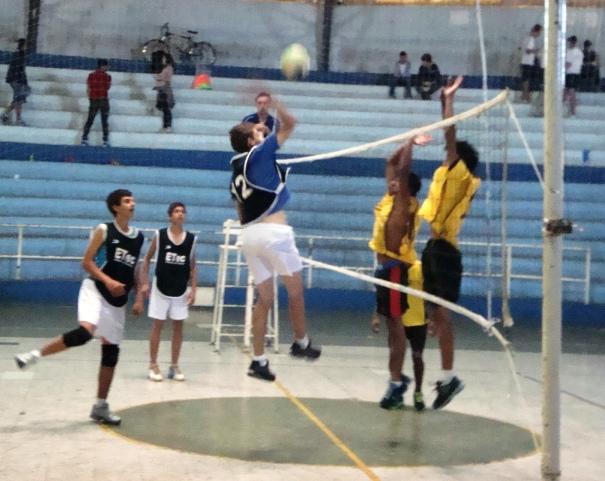 5fac3c949a46b Todas as partidas de voleibol foram pela categoria infantil