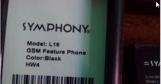Symphony L16
