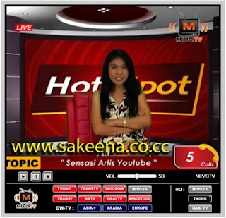 Mivo TV - TV Online ANTV, Indosiar, Trans7, Trans TV, TV One