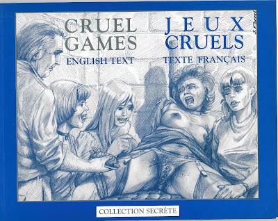 comic bdsm sadomasoquismo joseph farrel jeux cruels