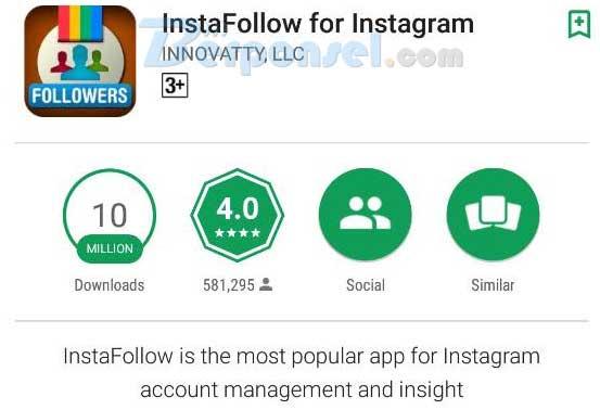 Cara Mengetahui Orang Yang Unfollow Akun Instagram Anda dengan aplikasi