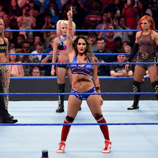 Six-Pack Challenge for the SmackDown Women's Championship