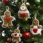 http://www.redheart.com/free-patterns/gingerbread-tree-ornaments
