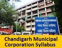 Chandigarh Municipal Corporation JE Syllabus