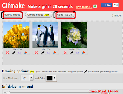How to make .GIF files online?