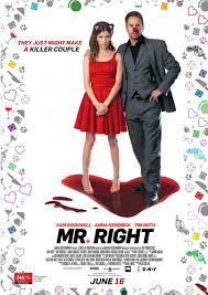 Mr. Right - Segundo Poster & Segundo Trailer