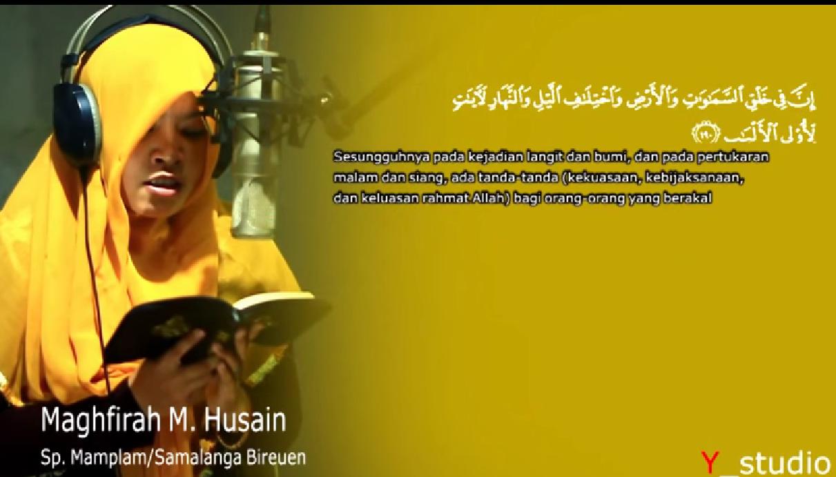 Update Mp3 Murottal Al-Quran Merdu (Maghfirah M Hussein)