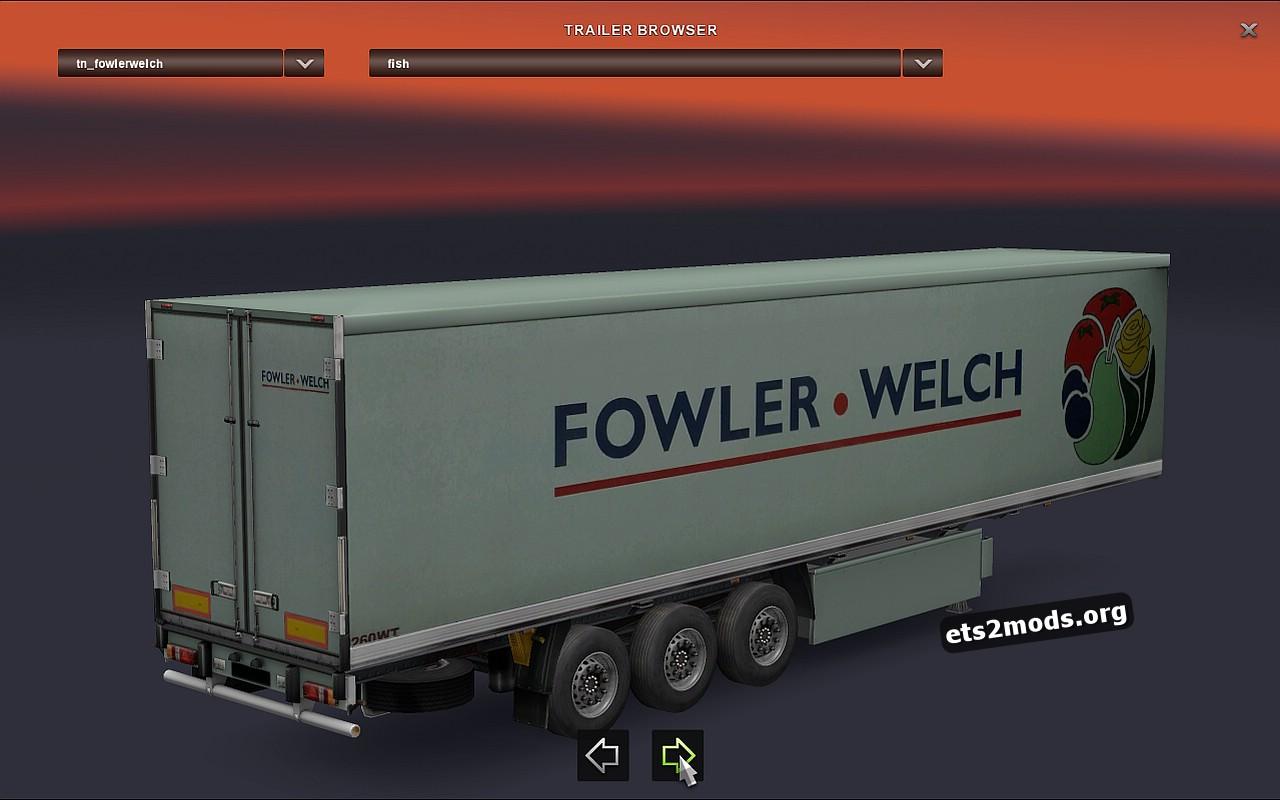 Standalone Fowler-Welch Trailer