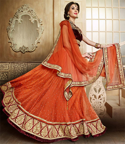 5 Trendy Colours Other Than Red Women Love In Lehengas